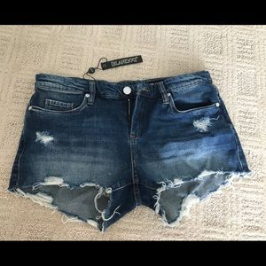 Blank NYC jean shorts (shake it out shorts)